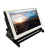 Magedok 7 Zoll 1024*600 Raspberry Pi Capacitive Touchscreen Display, IPS Bildschirm, HDMI Input, Power and Touch, Via USB