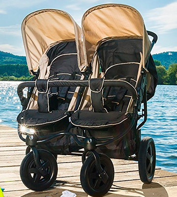 Die Übersicht über die Hauck Roadster Duo SLX 512166 Twin and double buggy