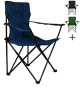 Nexos ZGC34384 Folding Chair with Armrest and Cup Holder