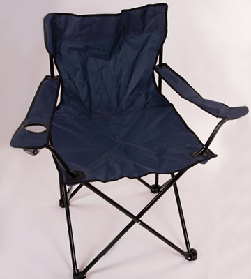 Die Übersicht über die Nexos ZGC34384 Folding Chair with Armrest and Cup Holder