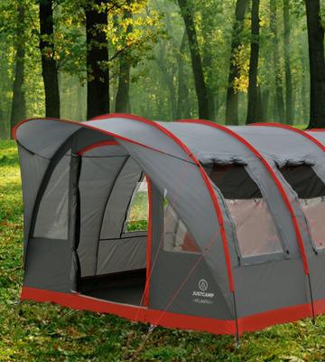 JUSTCAMP Atlanta 5 Personen Zelt   Zelt Test 2020