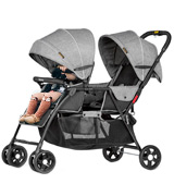 Besrey Twin Pushchair Double Buggy Zwillingswagen