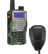 BaoFeng UV-5R Plus VHF/UHF Walkie-Talkie