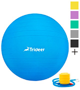 Trideer Solid Track Gymnastic Ball