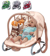 Stimo24 Jungle Baby Rocker Chair with Vibration
