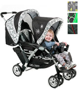 Chic 4 Baby Duo Twin Pushchair 274 23 Tandemwagen