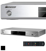 Pioneer BDP-180-S Blu-ray Player